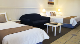 Queen + Single Disabled Suite at Dalby Mid Town Motor Inn